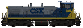 CSX Transportation MP-15AC