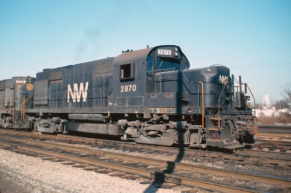 NW Alco RS36 #2870