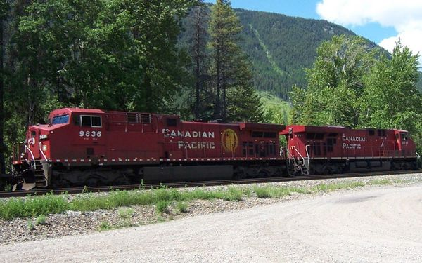 Canadian Pacific AC4400CW #9836