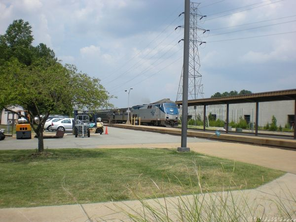 Amtrak 44 w/ The Carolinian (Train 79)