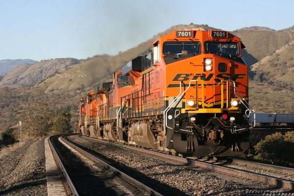 BNSF Z Train On The Loop