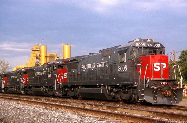SP B40-7 #4008-4011 Erie PA