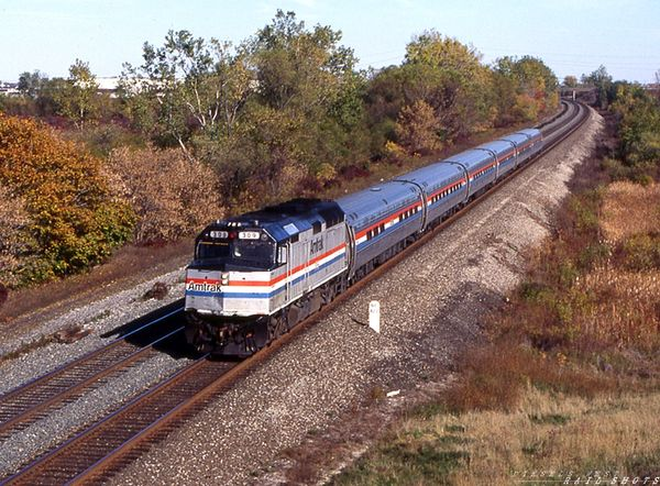 Amtrak 63 F40PH #309 MP 427 Lancaster NY
