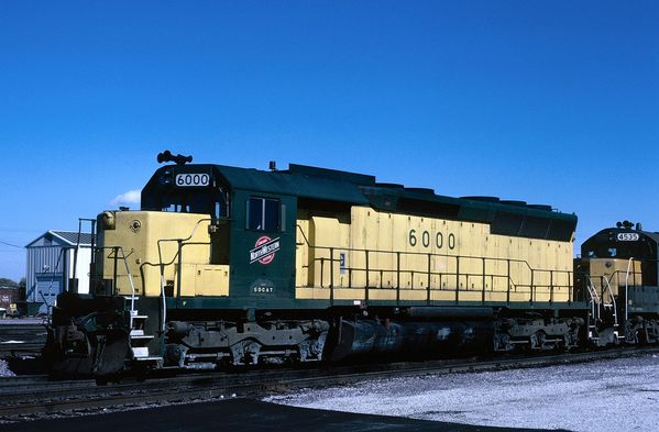 CNW EMD SD45R SD-Cat #6000