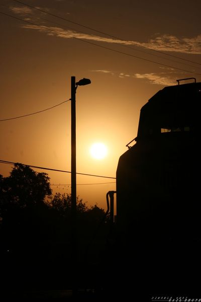 SD70M sunrise