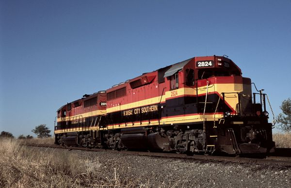 KCS EMD GP22ECO #2824