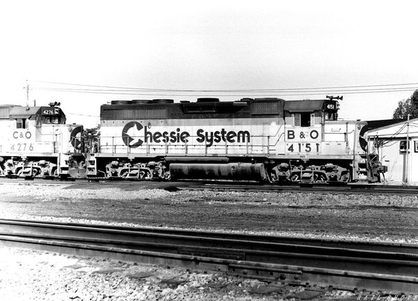 B&O (Chessie) GP40-2 #4151 Bison Runner