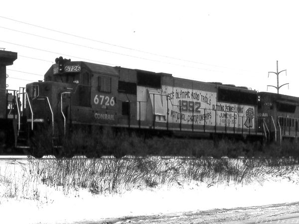 Conrail SD50 #6726 William St Buffalo NY