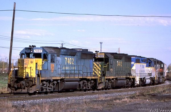 D&H GP39-2s in Four Flavors
