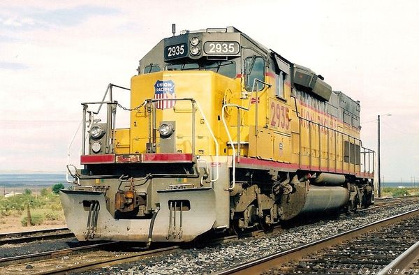 UP SD40T-2