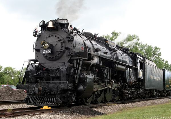 Pere Marquette 1225 in Bay City