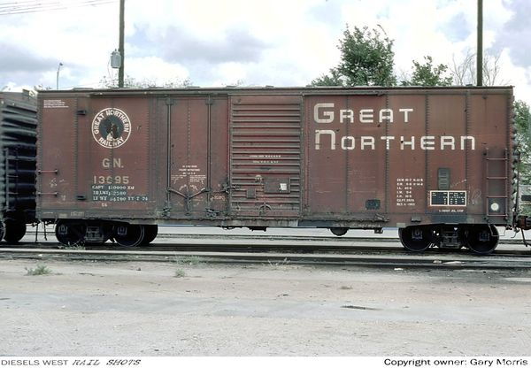 Great Northern 40' boxcar - Houston, TX