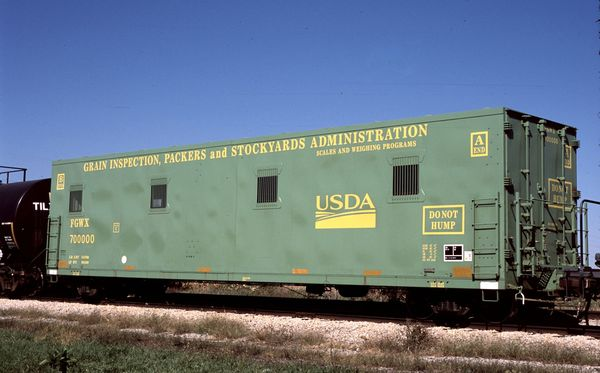 FGWX USDA Scale Test Car #700000
