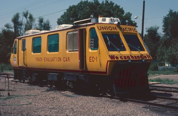 UP EC-1 Track Evaluation Car