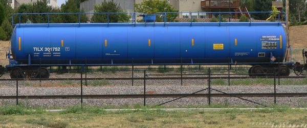 TILX tank car - Littleton, CO