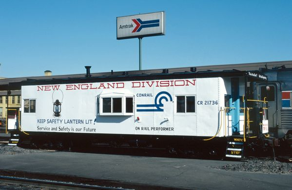 CR #21736 New England Division Safety Caboose
