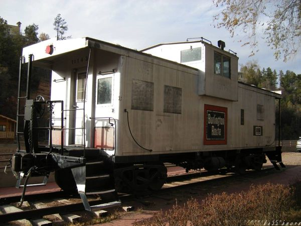 Burlington Route Caboose