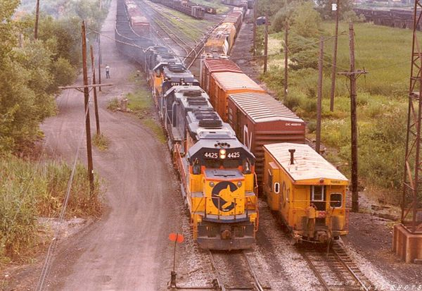 B&O Buffalo Creek Yard Tifft St Buffalo NY