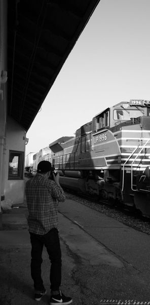 My locomotive and me