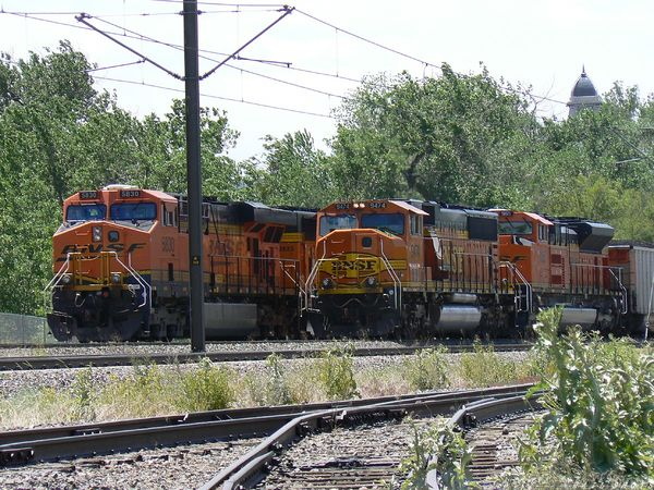 BNSF coal trains - BNSF/UP Joint Line - Denver