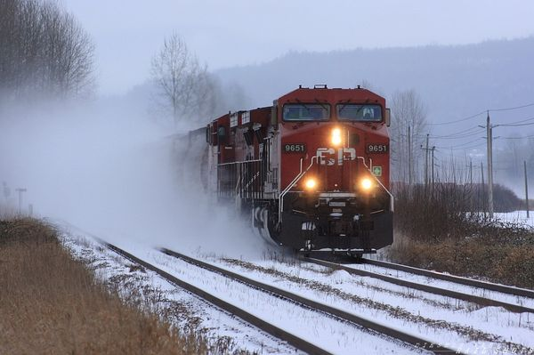 CP 405 on the CN Yale Sub westbound