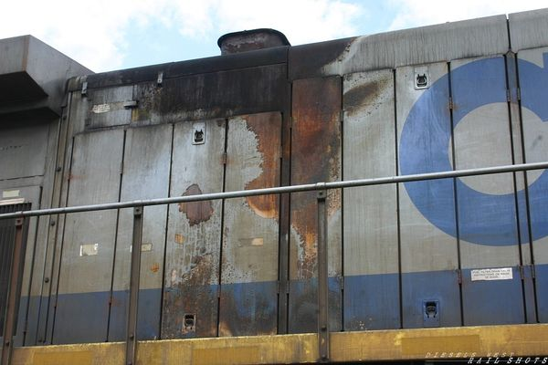 CSXT 34 - Burn Damage